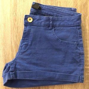 H&M (cobalt blue shorts) 🥶💙